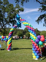Оформление воздушными шарами, фото 1