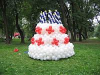 Профессиональное оформление воздушными шарами, фото 1