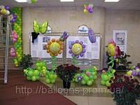 Профессиональное оформление шарами, фото 1