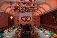 Оформление свадьбы надувными шарами