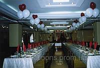 Свадебное украшение воздушными шарами днепр, фото 1