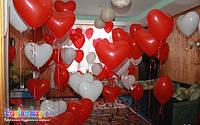 Свадебное оформление воздушными шарами, фото 1