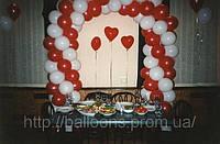 Оформление свадьбы воздушными шарами, фото 1