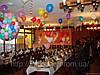 Украшение свадьбы воздушными шарами в днепропетровске