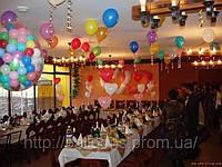 Украшение свадьбы воздушными шарами в днепропетровске, фото 1