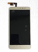 Дисплей для Xiaomi Redmi Note 3/Redmi Note 3 Pro + touchscreen, золотистый