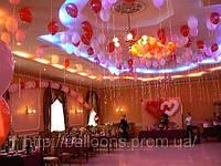 Оформление помещения надувными шариками в днепропетровске