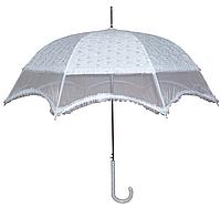 Зонт свадебный белый