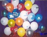 Печать логотипа на воздушных шарах, фото 1