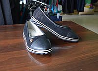 Туфли для девочки брошь