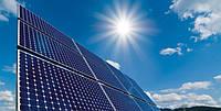 Робота сонячних батарей при літній жарі