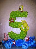 Украсить детский праздник шарами,цифры, фото 1