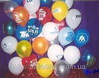Рекламная печать на воздушных шарах, фото 1