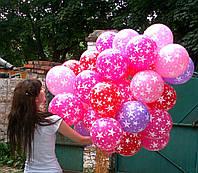 Летающие гелиевые шарики