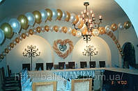 Плетеное сердечко из воздушных шаров, фото 1