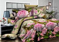 Качественное постельное бельё из хлопка Ранфорс (2-х сп)