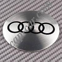 Наклейки для дисков с эмблемой Audi. Цена указана за комплект из 4-х штук