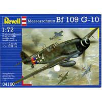Сборная модель Revell Истребитель-бомбардировщик Messerschmitt Bf 109 G-10 1:72 (4160)