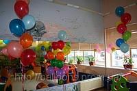 Украсить детский праздник шарами, надувные шарикие, шарики с гелием, гелевые шарики