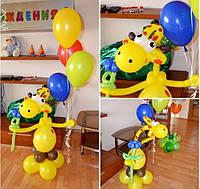 Украсить детский праздник гелиевыми шарами