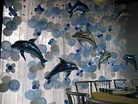 Оформление воздушными шарами детского праздника, оформление свадеб воздушными шарами, гелевые