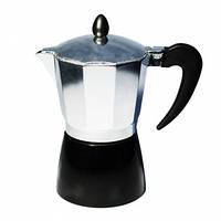 Гейзерная кофеварка Con Brio CB-6306 (6 чашки кофе, емкость 300мл)