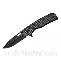 Нож складной Хищник-2, полуавтоматический механизм. Выкидной красивый нож. Качественный метал