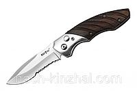 Нож выкидной со стропорезом, для активных туристов и экстремалов. Качество лезвия. Нож для охотника.