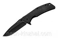 Нож складной, туристический помощник + клипса для ремня. Отличная сталь. Охотничий нож.