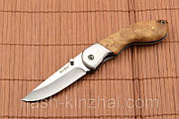 Практичный нож из классики. Складывается(складной), рукоять под ладонь. Доступный и удобный нож туриста!