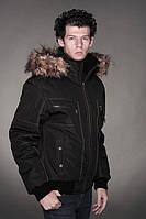 Куртка зимняя с отстёгивающимся капюшоном