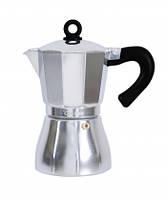 Гейзерна кавоварка Con Brio CB-6509 (9 чашки кави, ємність 450мл)
