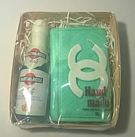 Мыльный набор Мартини и кошелек