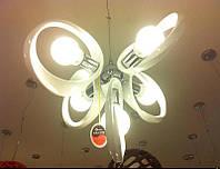 Люстра - модерн акрил (5  ламп)