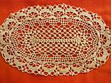 Серветка декоративна в'язана, фото 2