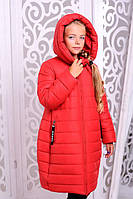 Детское зимнее пальто на подростка девочку Ангел на рост от 122см до 146см