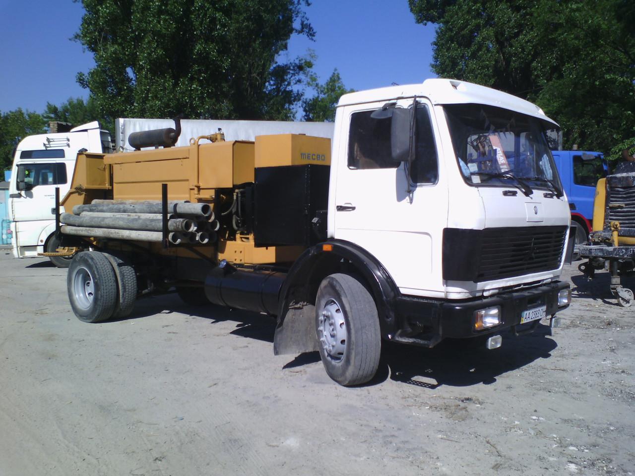 Бетононасос - LogisticBud в Киеве