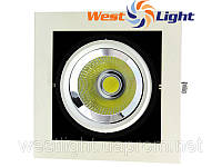 Светильник карданный потолочный 30W, Врезные LED светильники Downlight 30W