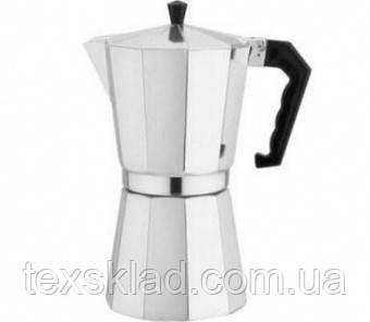 Гейзерная кофеварка FRICO Fru-173 (9 чашки кофе, емкость 450мл)