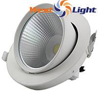 20 W LED светильники Выдвижной Поворотный Downlight