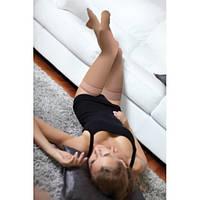 Чулки Maxis soft с закрытым носком