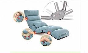 Кресло трансформер удлиненное. Голубое. (C1)