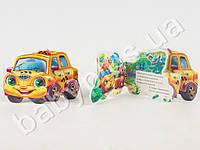 Смешные машинки (мини): Такси (р) M15473P