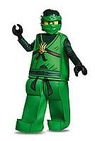 Карнавальный  ПОЛИПРОПИЛЕНОВЫЙ КОСТЮМ ЛЛОЙДА Лего Ниндзяго, фото 1