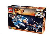 Конструктор QS08 Stars Wars 88028 «Космическое сражение» 206 деталей (аналог Lego Star Wars)