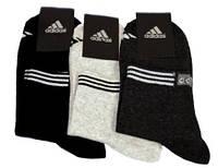 """Мужские носки """" Adidas """" Надпись на резинке"""