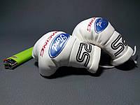 Сувенирные мини-перчатки (для авто)  белые Форд