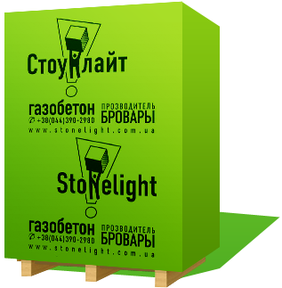 Газоблок Стоунлайт - «БудМарт» в Житомире