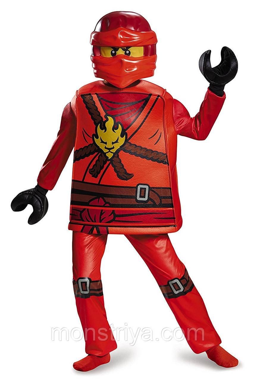 Карнавальный костюм КАЯ Лего Ниндзяго/ Ninjago LEGO