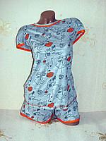 Пижама женская, одежда для дома, 52 размер